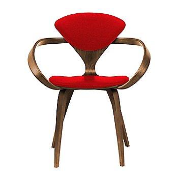 Natural Walnut Seat & Legs, Solid Walnut Arms / Divina 623