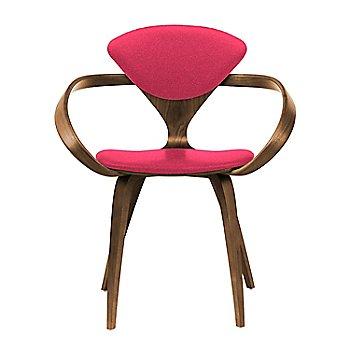 Natural Walnut Seat & Legs, Solid Walnut Arms / Divina 626