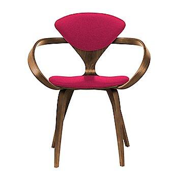 Natural Walnut Seat & Legs, Solid Walnut Arms / Divina 636