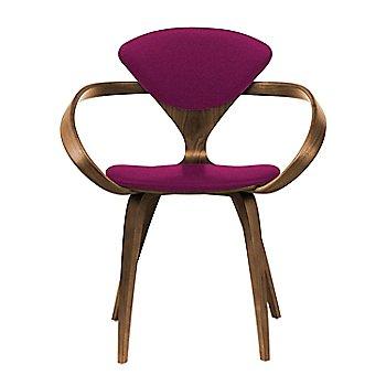 Natural Walnut Seat & Legs, Solid Walnut Arms / Divina 652
