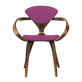 Natural Walnut Seat & Legs, Solid Walnut Arms / Divina 662