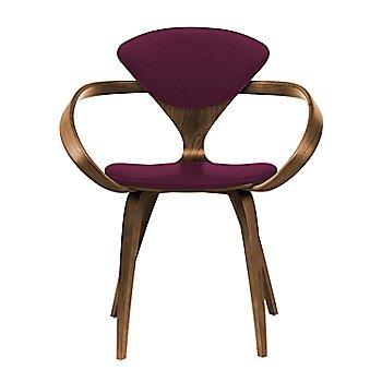 Natural Walnut Seat & Legs, Solid Walnut Arms / Divina 671