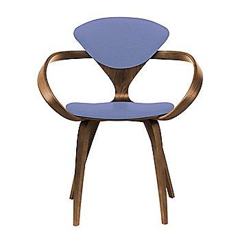 Natural Walnut Seat & Legs, Solid Walnut Arms / Divina 676