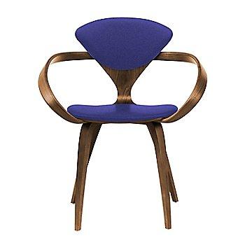 Natural Walnut Seat & Legs, Solid Walnut Arms / Divina 684