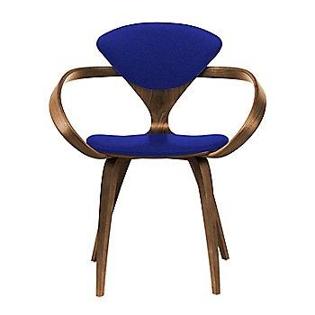 Natural Walnut Seat & Legs, Solid Walnut Arms / Divina 686