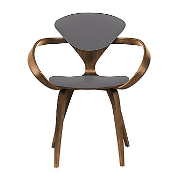 Natural Walnut Seat & Legs, Solid Walnut Arms / Divina 691