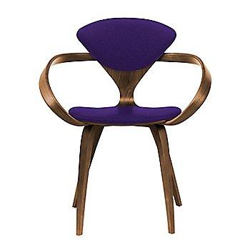 Natural Walnut Seat & Legs, Solid Walnut Arms / Divina 692