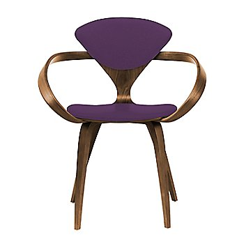 Natural Walnut Seat & Legs, Solid Walnut Arms / Divina 696