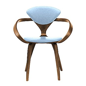 Natural Walnut Seat & Legs, Solid Walnut Arms / Divina 712