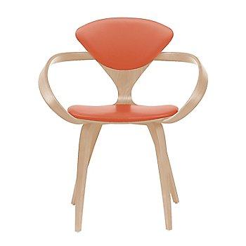 White Oak Rift Cut / Sabrina Leather Robotic Orange