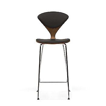 Natural Walnut frame / Vincenza Leather VZ-BLCK Upholstery