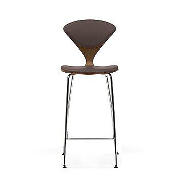 Natural Walnut frame / Sabrina Leather Coffee Bean Upholstery