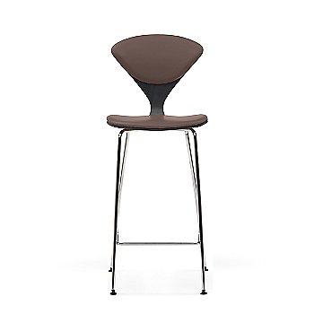 Classic Ebony (Ebonized Walnut) frame / Vincenza Leather VZ-2115 Upholstery