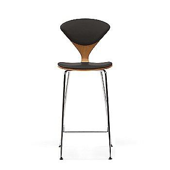 White Oak Rift Cut frame / Vincenza Leather VZ-BLCK Upholstery