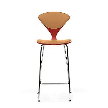 Stella Orange frame / Sabrina Leather Monarch Upholstery