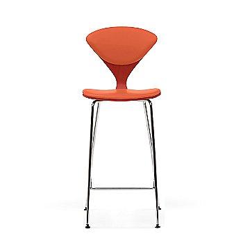 Stella Orange frame / Sabrina Leather Robotic Orange Upholstery