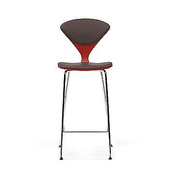 Stella Orange frame / Sabrina Leather Coffee Bean Upholstery
