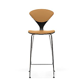 Ebony Lacquer frame / Vincenza Leather VZ-2111 Upholstery