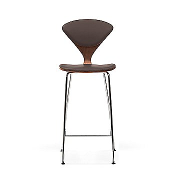 Classic Walnut frame / Sabrina Leather Coffee Bean Upholstery