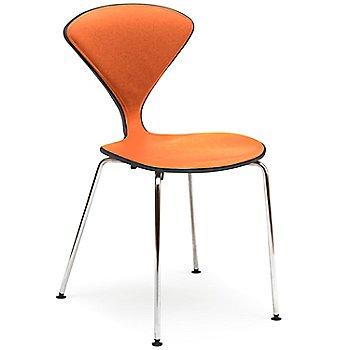 Classic Ebony (Ebonized Walnut) Frame finish / Sabrina Leather Robotic Orange