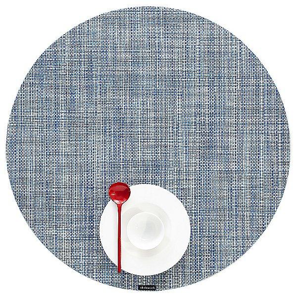 Mini Basketweave Round Placemat