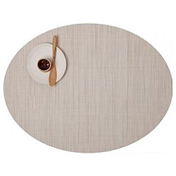 Bamboo Oval Placemat by Chilewich (Chino) - OPEN BOX RETURN