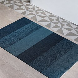 Marbled Stripe Shag Floormat