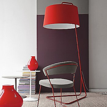 Shown in Red with Matte Red