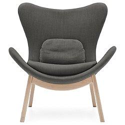 Lazy Wood Base Armchair