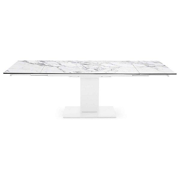 Echo Extending Pedestal Table
