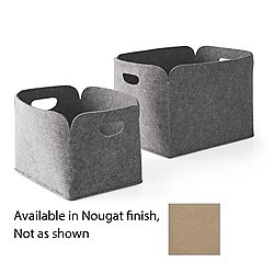 Daryl Storage Basket Set of 2 (Nougat) - OPEN BOX RETURN