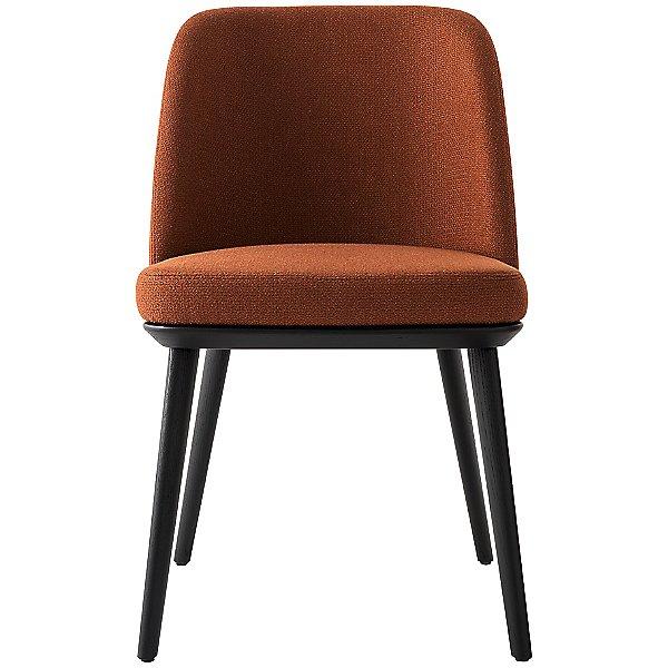 Foyer Upholstered Wooden Chair