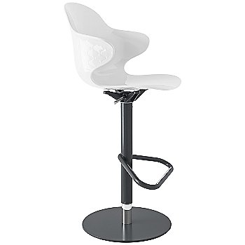 Glossy Optic White seat / Matte Grey frame finish