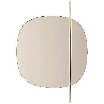 Bronze Mirror / Polished Brass finish