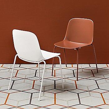Matte Brick Red / Matte Optic White