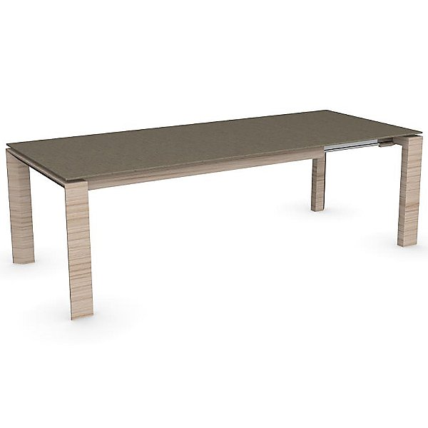 Omnia Glass Extension Table