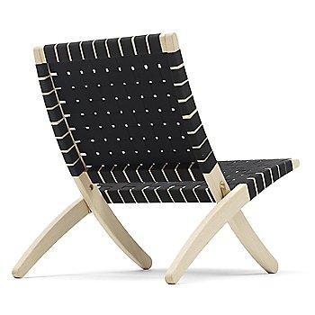 Black seat / Oak - White Oiled finish