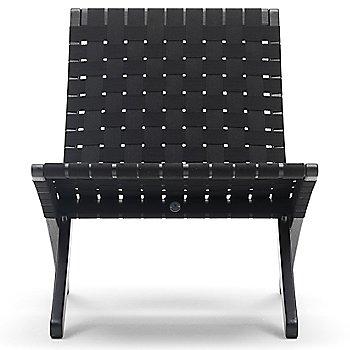 Black seat / Oak - Black finish