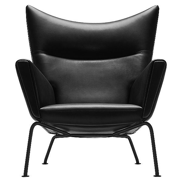 CH445 Wing Lounge Chair - Black Edition