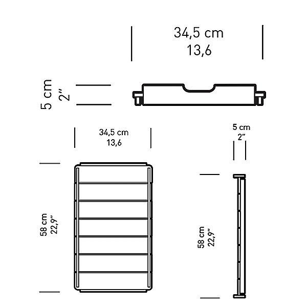 BM1069 Outdoor Footstool Tray