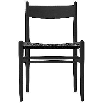 Oak - Black frame finish / Black Paper Cord seat