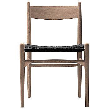 Oak - Laquered frame finish / Black Paper Cord seat