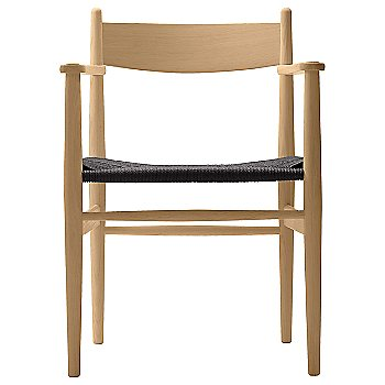 Black Paper Cord seat / Beech - Oiled finish