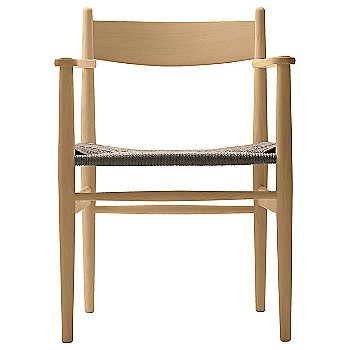 Natural Paper Cord seat / Beech - Oiled finish