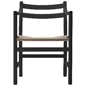 Beech - Black frame finish / Natural Paper Cord seat