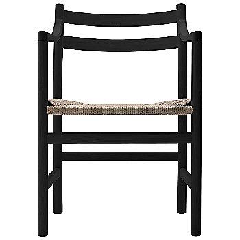 Oak - Black frame finish / Natural Paper Cord seat
