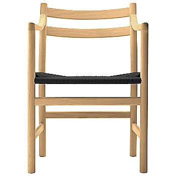Beech - Laquered frame finish / Black Paper Cord seat