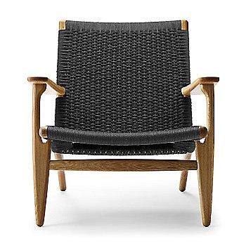 Oak - Oiled frame finish / Black Paper Cord seat