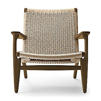 Smoked Oak - Oiled frame finish / Natural Paper Cord seat