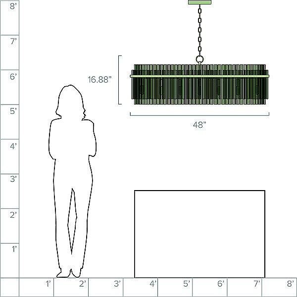 Beckett Linear Suspension Light